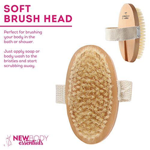 3 Headed Bath Brush The Best Bath Body Brush Shower Brushes